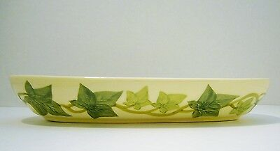 Vintage Franciscan American Green Ivy Vine Relish Serving Party Dish Early Mark