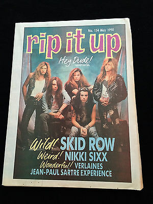 Rip It Up Magazine New Zealand Skid Row Motley Crue The Sugarcubes 1990
