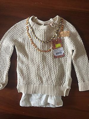 Scotch R'belle Knit Jumper Size 4 BNWT