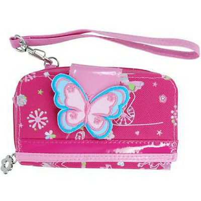 NEW Carnival Mobile Phone Holder and Purse for Toddlers and Girls - Pink Poppy