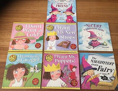 The Naughtiest Fairy's 3 Book Collection & Little Princess 4 Books