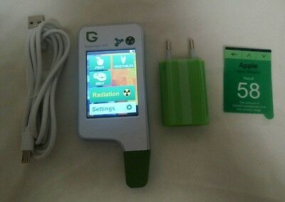 2in1 Greentest Eco portable Radiation and Nitrate detector geiger counter tester
