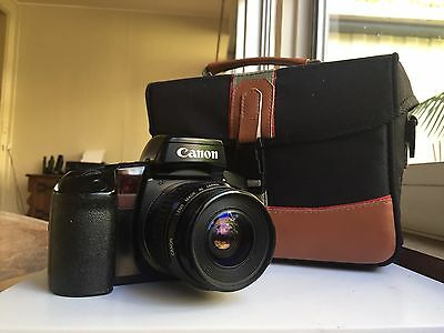 Canon EOS 100 35mm Film Camera Working