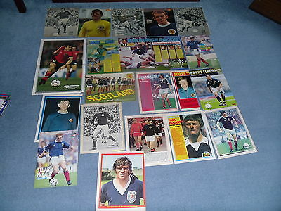 SCOTLAND FC LARGE SELECTION OF POSTERS 3 for 2 on poster sets
