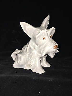SylvaC Scottie / Griffin Sitting Dog 1295 in Rare Grey Colour. Immaculate