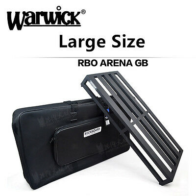 Warwick Guitar Effects Pedal Gig Bag case Large Size Pedalboard RBO ARENA GB