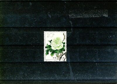 China 1964 Mi 807 flower used