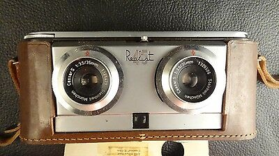 Vintage Realist 45 35mm Film 3D bifocal camera 3D Stereo Collector