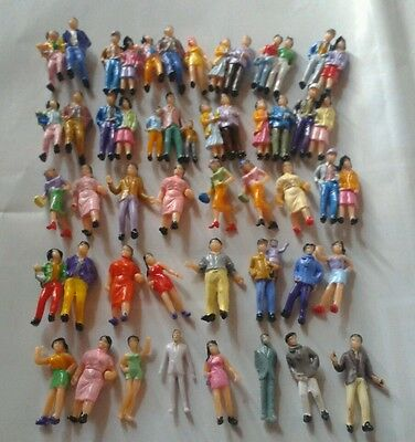 50 personaggi People Figures 1:87 H0 per diorami - NO Preiser
