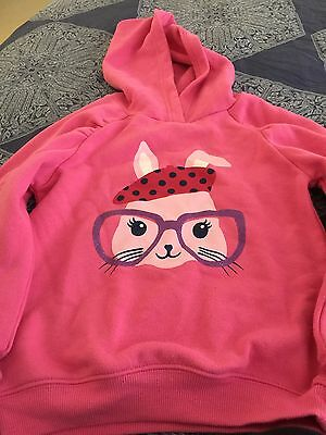 Girls Size 5 Pink Big W Jumper
