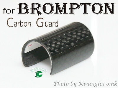 Brompton Carbon scratch guard,Made by kwangjin OMK
