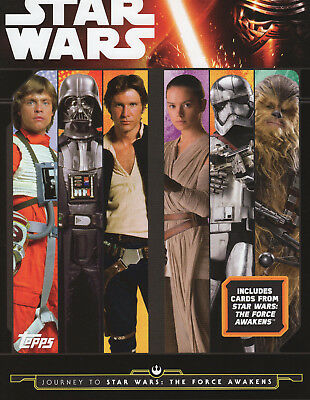 TOPPS STAR WARS JOURNEY TO THE FORCE AWAKENS (31 mirror card set 161-191)