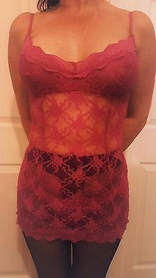 💝 Next 💝 mesh lace Babydoll lingerie outfit 💝 sized at a uk 8