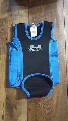 Boys blue wet suite from The wetsuite factory Age 6-12 Months