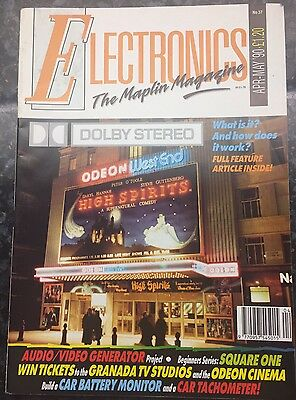 Electronics The Maplin Magazine. April- May 1990. Collectible