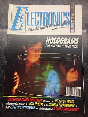 Electronics The Maplin Magazine. February- March 1990. Collectible
