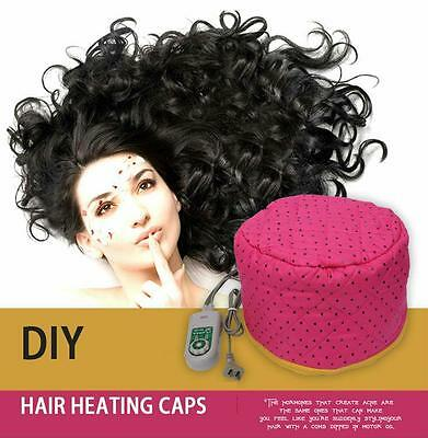 Heating Steam Electric Hair Cap Hot Oil Styling Beauty Tool Nutrition Treatments