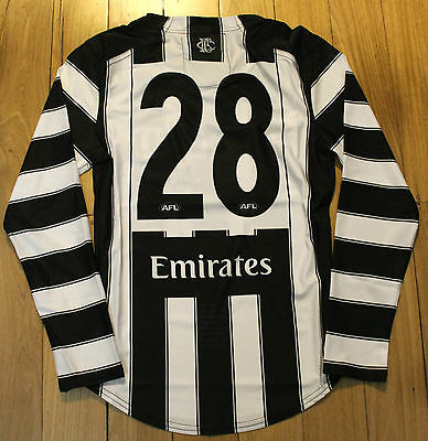 2017 Ben Sinclair Collingwood 125 Years Player Issue Football Jumper Guernsey