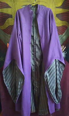 Wiccan/Witch Woolen Ritual Robe