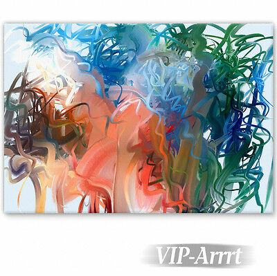 VIP-Arrrt, Keilrahmenbild 'Jungle Color-High', 100 x 70 cm, Fineart-Print, neu