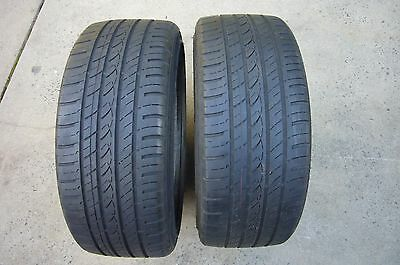 Two Used 17 Inch Tyres 205/40R17