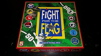 RARE 1990s FIGHT FOR THE FLAG SANFL TRIVIA GAME COMPLETE EXCELLENT CONDITION