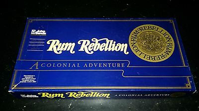 Vintage 1983 Rare Rum Rebellion Board Game John Sands Complete