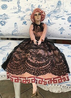 "French Boudoir Doll  32""   - purchased in France."