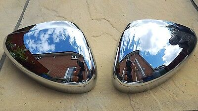 Citroen C3 Genuine mk2 Chrome Door Mirror Covers