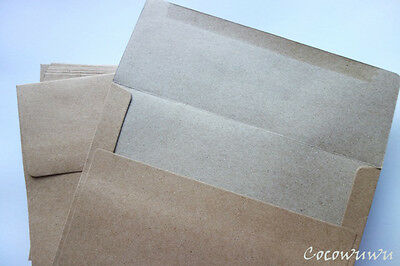 Envelopes Kraft Brown 5x7 Size  - 133mm x184mm choose quantity  x10, x50, x100