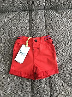 Baby Boy Ted Baker Shorts 3-6 Months