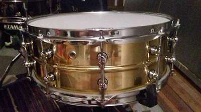 Messing Brass Snare 14 x 5,5