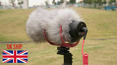 microphone deadcat generic windshield FOR rode videomic GO and Takstar SGC-598
