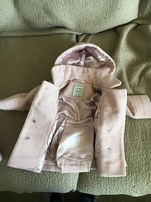 Next Baby Girl Smart Coat -Age 3-6 months