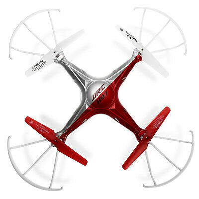 UK SHIP!JJRC H97 RC Quadcopter Drone 2.4Ghz 6-Axis LED Helicopter wCamera Red