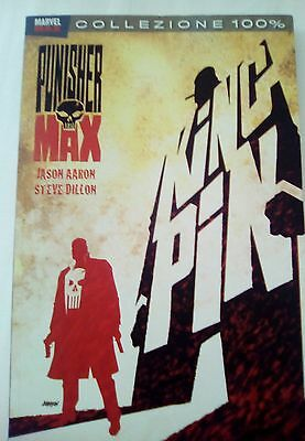 marvel max collezione 100% the punisher kingpin aaron dillon