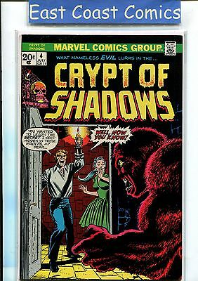Crypt Of Shadows #4 - Near Mint Minus -  Silver/bronze Age Marvel