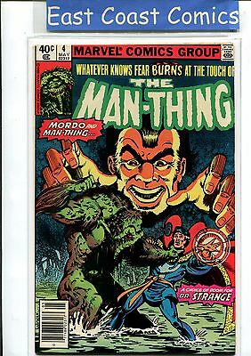Man-Thing Vol: 2 #4 - Very Fine  - Marvel