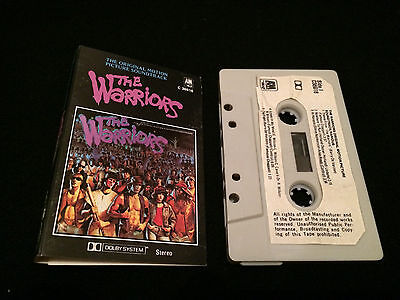 The Warriors Soundtrack Australian Cassette Tape