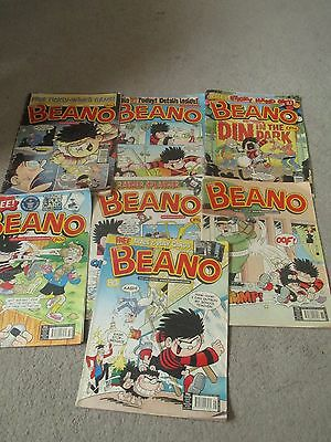 Vintage Beano Comics Job lot/Bundle X 7 2005 and 2006