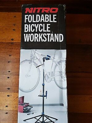 nitro foldable bicycle work stand RRP $60