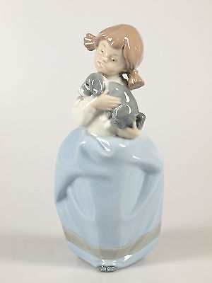 Nao by Lladro Girl Figurine with Puppy
