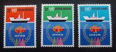 United Nations-1974-Law of the Sea set-MNH