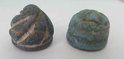 VERY RARE ! first ever sold..2 hand stone stamps for 2 Abbasid caliphs