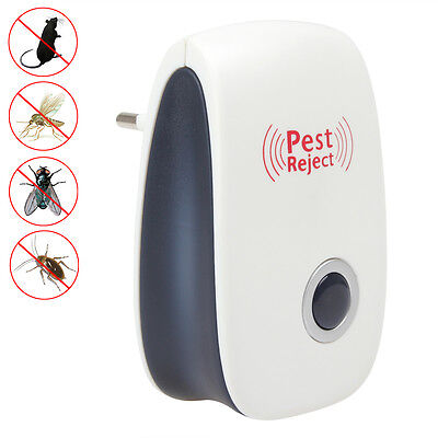Electronic Ultrasonic Pest Reject Bug Mosquito Cucaracha Bug Fly Killer Repeller