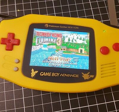 GBA with backlight mod (aus stock)