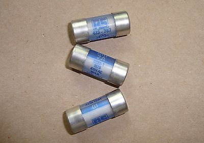 Pack of Three, MD2 Pullcap Cartridge Fuse, 2A, 12.7 x 29mm RS 413-787