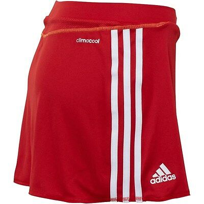 Adidas Womens Size 12 Climacool Hockey Tennis Netball Skort Red Ladies 🚺 Skirt