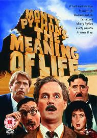 NEW & SEALED Monty Python's The Meaning Of Life dvd