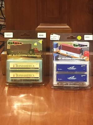 N Scale Assorted  Containers